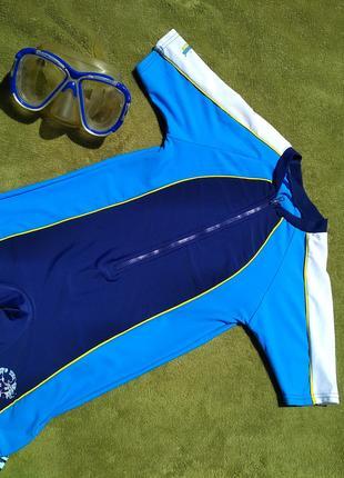 Солнцезащитный купальный костюм UPF50+ для мальчика 5-6 лет