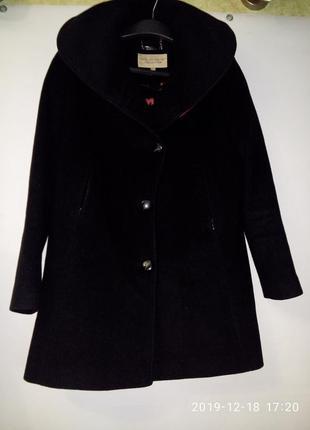 Брендовое пальто жакет  paul costelloe из натуральной ткани