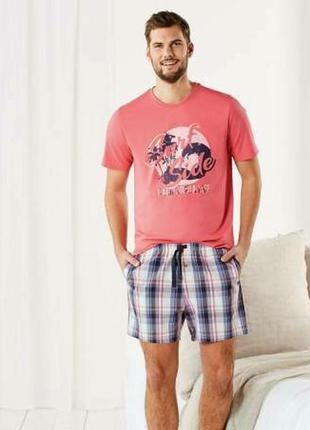 Летний комплект или мужская пижама домашний костюм livergy гер...