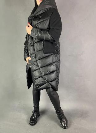 Пуховик одеяло кокон оверсайз пальто зимнее.