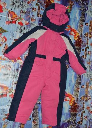 Зимний термо комбинезон 92 см для девочки