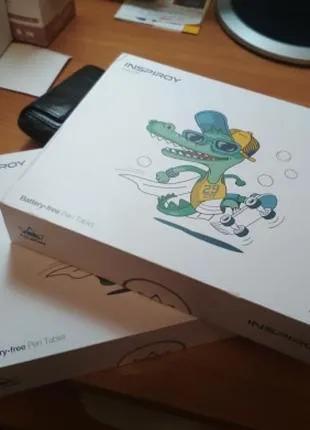 Графический планшет для рисования Huion H430P Новый Запечатаный