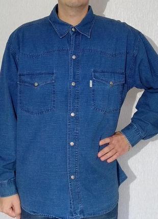 Джинсовая рубашка кантри cordial