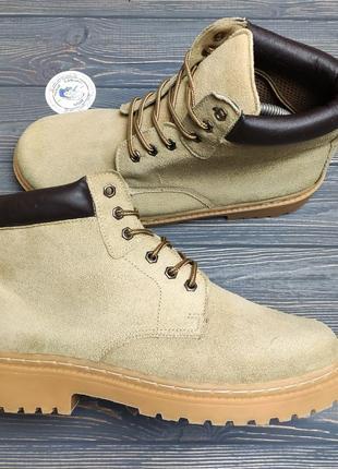 Замшевые ботинки boot оригинал!