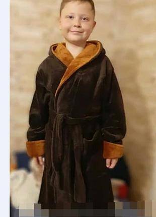 Детский махровый халат для мальчика,в наличии размеры,расцветки