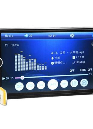 """2 din автомагнитола 7010B/7018B 7 """"HD MP5 SD/FM/MP4/USB/AUX/Bluet"""