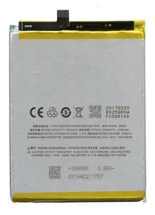Аккумулятор к телефону BS25 Meizu M3 Max 4100mAh