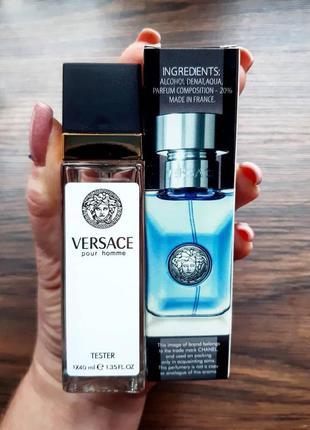 Мужской парфюм тестер 40 мл, туалетная вода, мужской парфюм, п...
