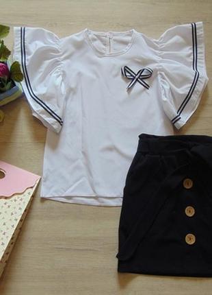 Комплект школьный юбка и блузка