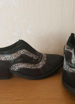 Супер стильные женские туфли в стиле All Saints, Religion, 41