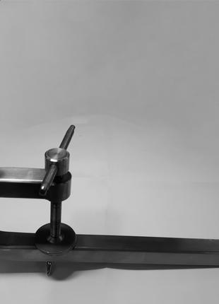Крепление струбцина держатель кронштейн для датчика эхолота нерж