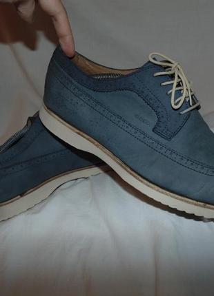Туфли кожаные geox оригинал кожа в идеальном состоянии