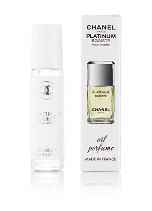 Масляные духи Egoiste Platinum Chanel 10 мл