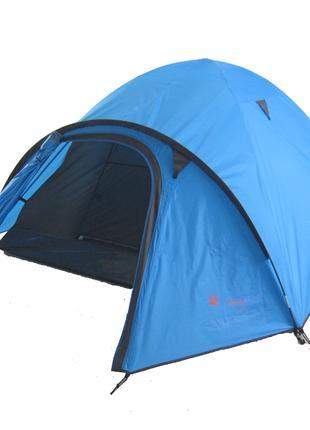 Туристическая палатка 3-х местная TRAVEL 3 с водоотталкивающей...