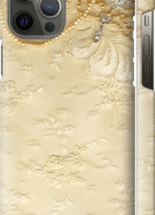 "Чехол на Apple iPhone 12 Pro Max Кружевной орнамент ""2160c-205..."