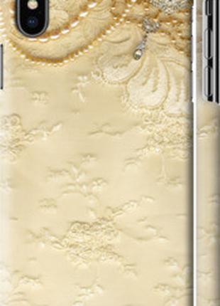 "Чехол на Apple iPhone XS Кружевной орнамент ""2160c-1583-48307"""