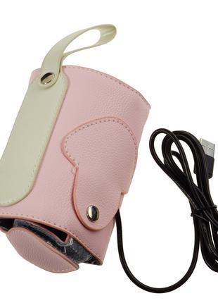 Подогреватель для детских бутылочек USB, Розовый
