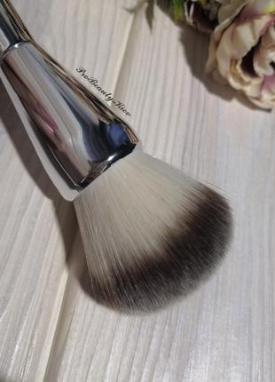 Кисть для макияжа для пудры, румян хайлайтеров big/silver prob...