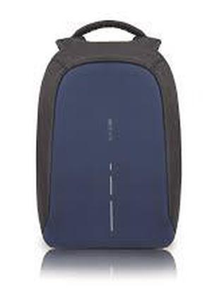 Рюкзак Антивор с USB зарядкой, синий