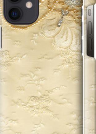"Чехол на Apple iPhone 12 Mini Кружевной орнамент ""2160c-2071-4..."