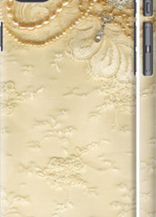 "Чехол на Apple iPhone SE 2020 Кружевной орнамент ""2160c-2013-4..."