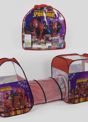 Детская игровая палатка с тоннелем Супергерой Spider-Man 8015 ...
