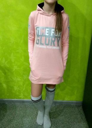 Модная туника-платье benini 140 рост. турция