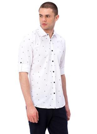 #розвантажуюсь белая мужская рубашка lc waikiki с карманом на ...