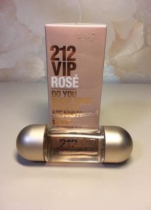 Carolina herrera 212 vip rose парфюм для женщин
