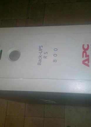 Источник бесперебойного питания UPS APC Back-UPS RS 800VA,