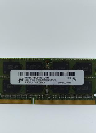 Оперативная память для ноутбука SODIMM Micron DDR3L 4Gb 1333MH...