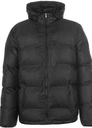 Теплая мужская черная куртка firetrap оригинал