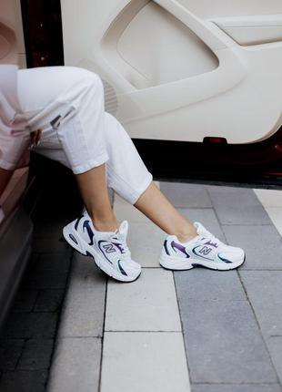 Кроссовки женские нью беланс new balance 530 puprle white