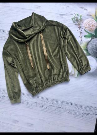Кофта женская, свитер велюровый.