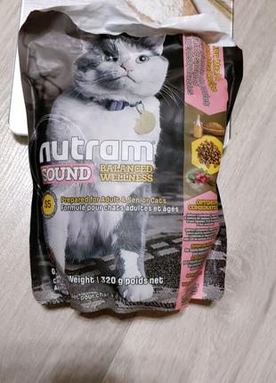 Кошачий корм Nutram S5 Sound Balanced (взрослые и пожилые)