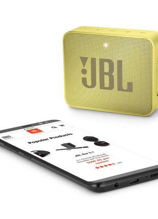 Акустическая система JBL Go 2 Yellow (JBLGo2YEL) Оригинал