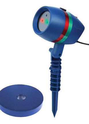 Лазерный проектор на Новый год Star Shower lazer light. Лучшая...