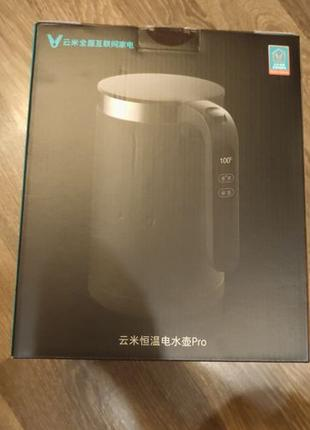 Чайник Xiaomi Viomi Smart Kettle Bluetooth Pro YMHW001CN