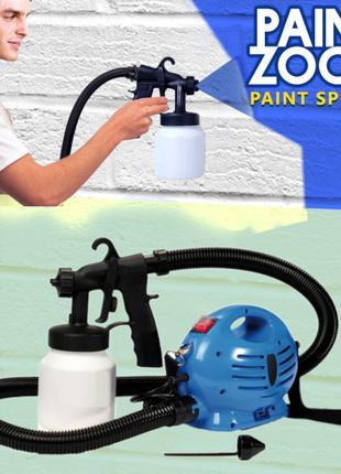 Краскораспылитель Профессиональный Paint Zoom (Пейнт зум), кра...