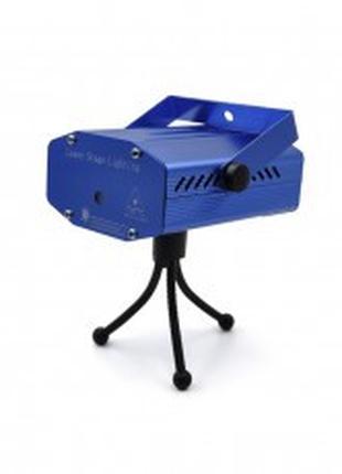 Лазерная установка-диско Laser Light HJ-09 ART:2481 (Синий/Чер...