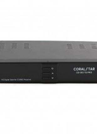 Тюнер спутниковый с т2 COMBO CS 303 TS PRO HD SATELLITE /T2 12...