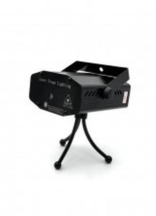 Лазерная установка-диско Laser Light HJ-06 ART:4054 (Черный/6в...