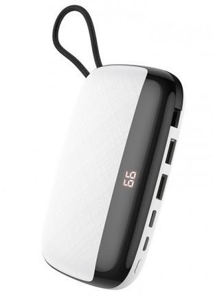 Power Bank Hoco S29 Nimble mobile power 10000mAh (с кабелем Mi...