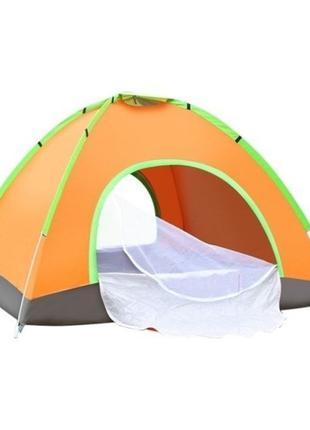 Палатка туристическая 4 местная (200 х 200 х 135) - НФ-00007181
