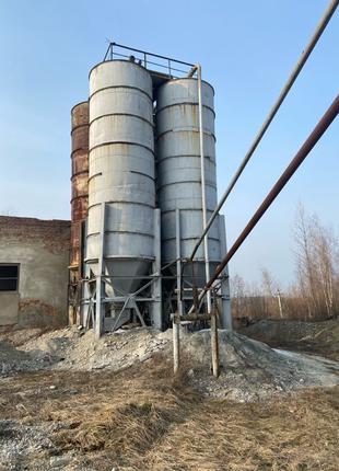 Силос для цементу  75м3, цистерна, бочка, резервуар, ємкість