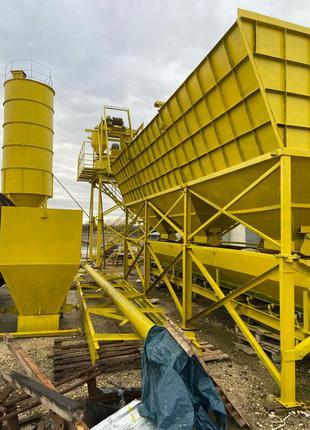 Бетонний завод, бетонний узел, виробництво бетону, БСУ