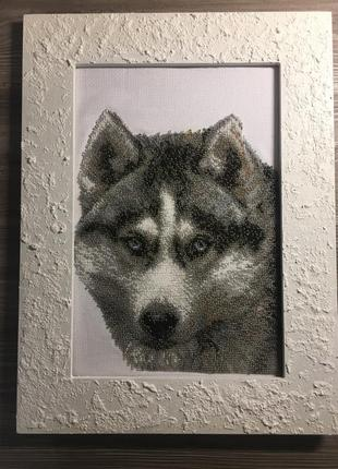 Картина вышивка бисером