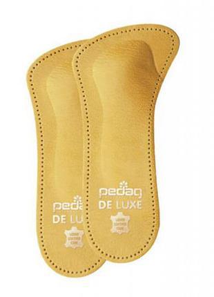 Ортопедическая мягкая полустелька для закрытой обуви на каблуке