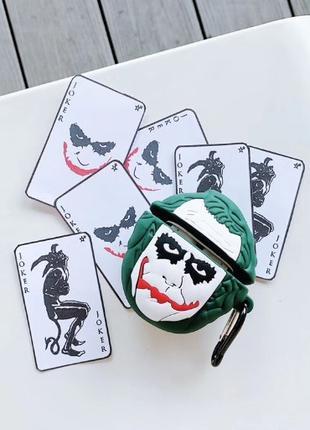 Чехол для AirPods Joker, чехол для Аирподс Джокер
