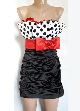 Тотальная распродажа товара нарядное платье на выпускной горох...
